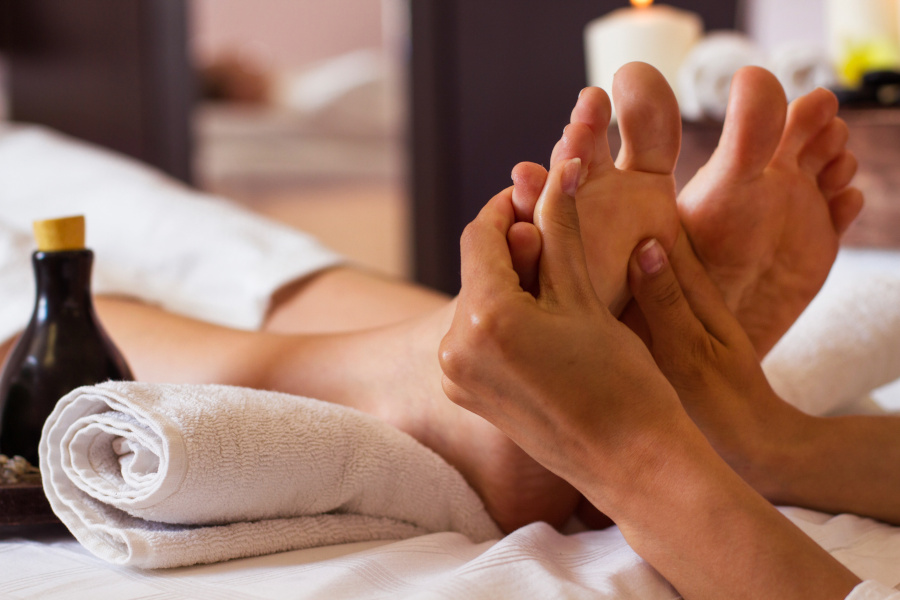 masaje de pies pamplona